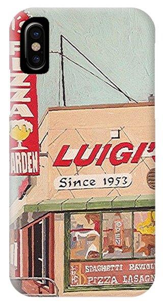 Luigi's Phone Case by Paul Guyer
