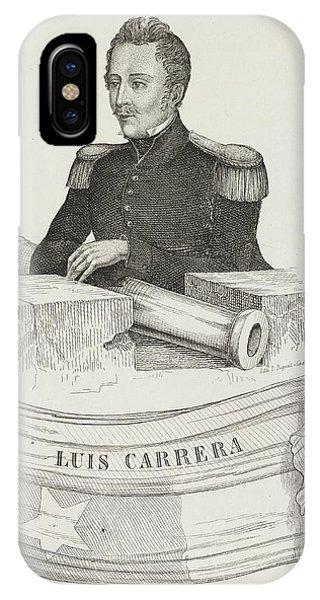 Luis Carrera IPhone Case