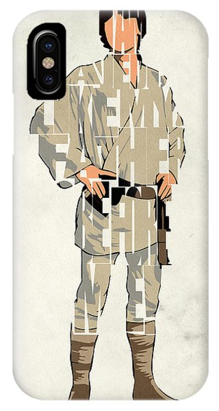 Luke Skywalker - Mark Hamill  IPhone Case
