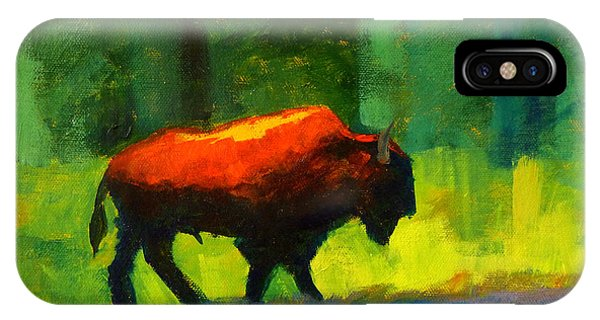 Lumbering IPhone Case
