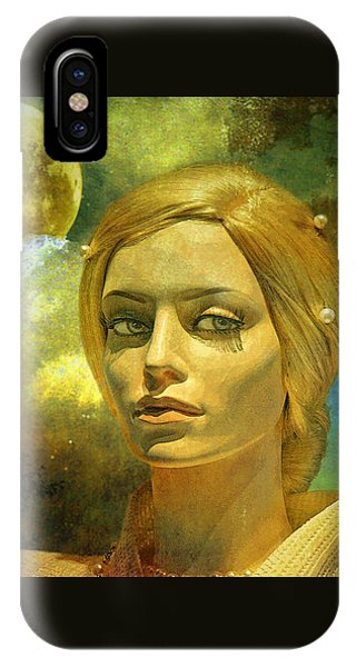 Luna In The Garden Of Evil IPhone Case