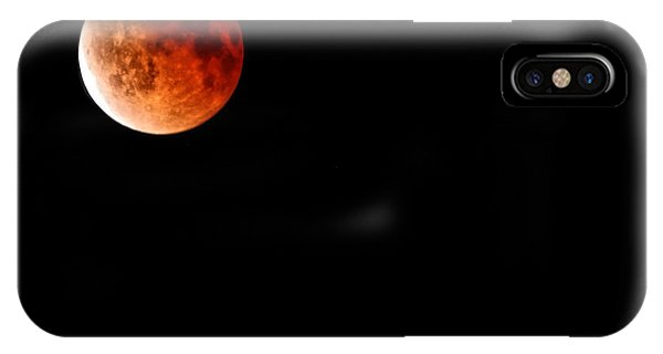 Lunar Eclipse April 15  2014 IPhone Case