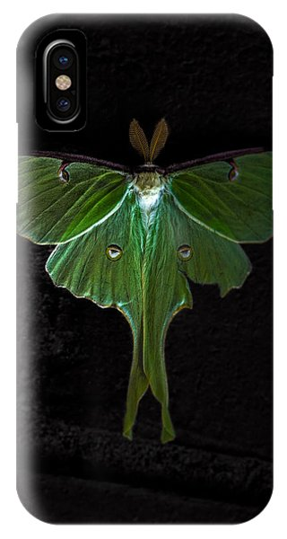Lunar Moth IPhone Case