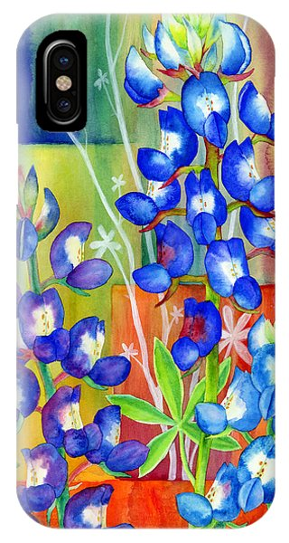 Lupinus Texensis IPhone Case