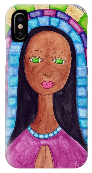 Lupita iPhone Case - Lupita Aya Sofya by Emily Lupita Studio