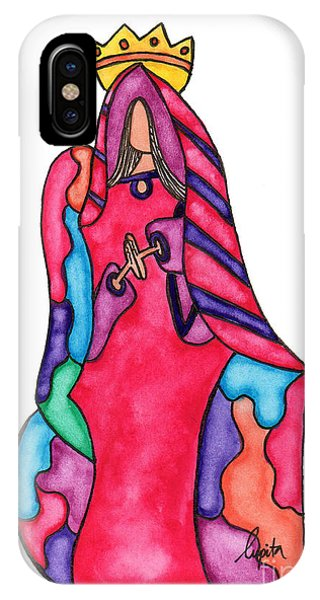 Lupita iPhone Case - Lupita Princess 1 by Emily Lupita Studio