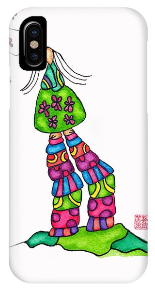 Lupita iPhone Case - Lupita Wears High Heels by Emily Lupita Studio