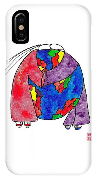 Lupita iPhone Case - Lupita You Are My World 2 by Emily Lupita Studio