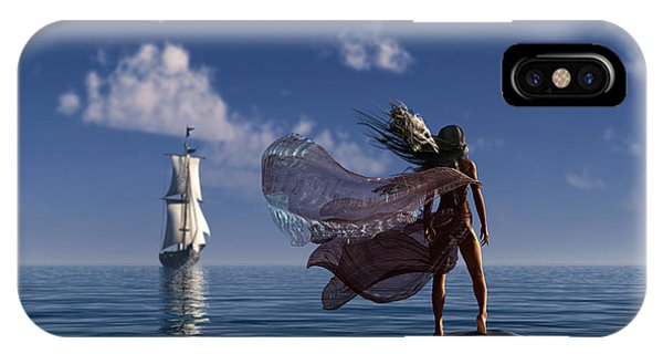 Lure Of The Siren... IPhone Case