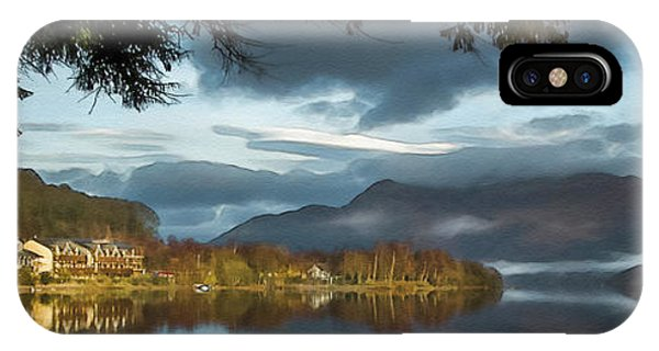 Luss Loch Lomand IPhone Case