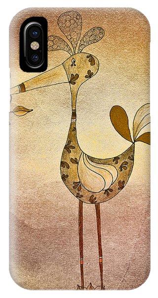 Lutgarde's Bird - 05t2c IPhone Case
