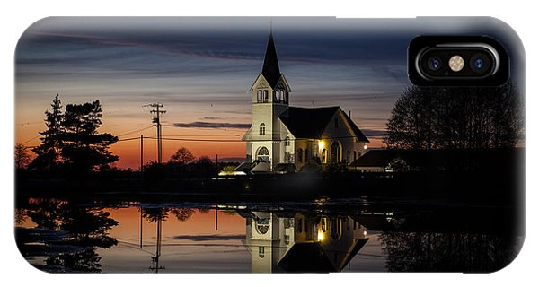 Lutheran iPhone Case - Lutheran Sunset by Mike Reid