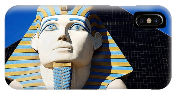 Luxor Las Vegas Sphinx IPhone Case