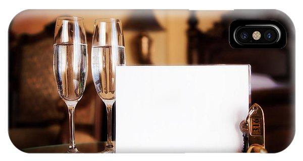 Luxury Hotel Room IPhone Case