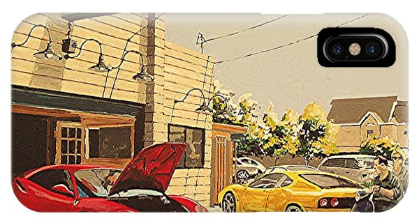 Luxury Motor Cars Phone Case by Paul Guyer