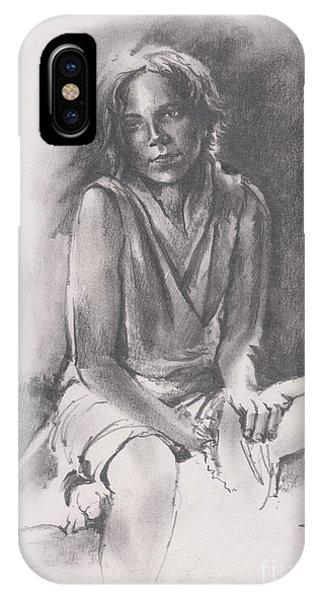 Lydia Sketch IPhone Case
