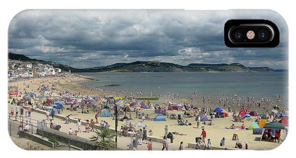 Dorset iPhone Case - Lym Regis 2 by Gill Piper