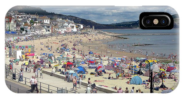 Dorset iPhone Case - Lyme Regis 1 by Gill Piper