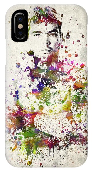 Lyoto Machida IPhone Case
