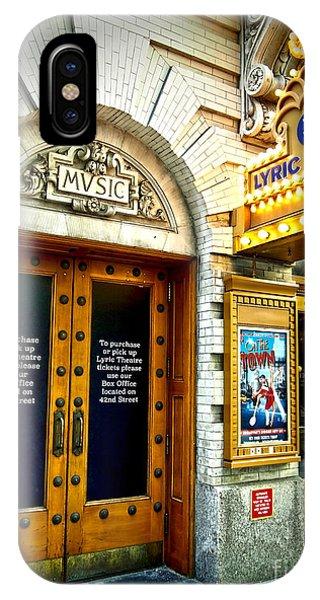 Lyric Theatre - Music IPhone Case