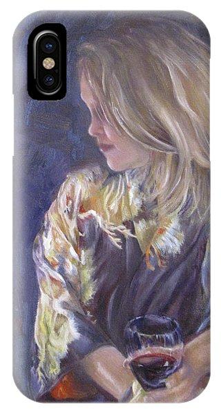 M And The Kazama Kimono IPhone Case