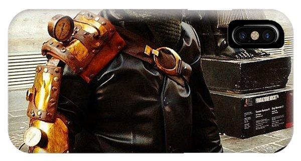 Steampunk iPhone Case - ma Chi Siete? mostri. (cit.) by Valentina Di Martino