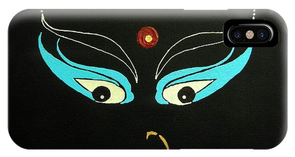 Maa Kali II IPhone Case