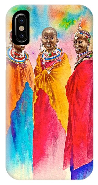 Maasai Life 14 IPhone Case