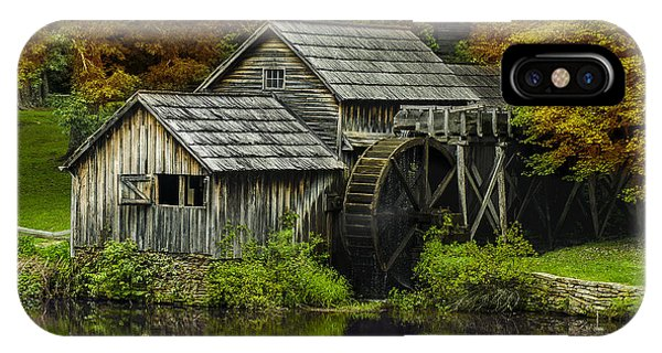 Mabry Mill In Autumn IPhone Case