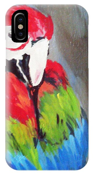 Macaw 2 IPhone Case
