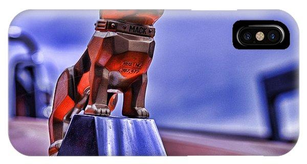 Trucking iPhone Case - Mack The Bulldog Mascot by Paul Ward