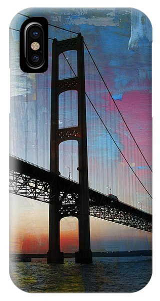 IPhone Case featuring the photograph Mackinac Bridge by Jackson Pearson