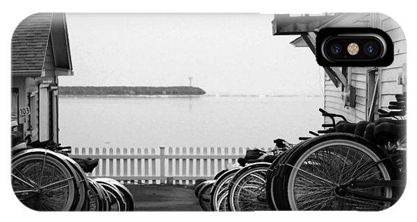 Mackinac Island Bikes IPhone Case
