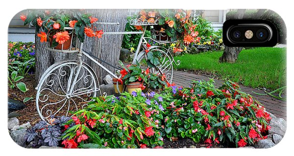 Mackinac Island Garden IPhone Case