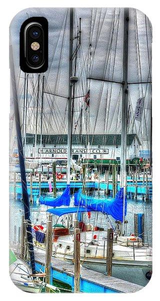 Mackinac Island Harbor IPhone Case