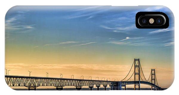 Mackinac Sunset IPhone Case