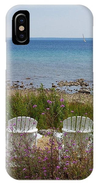 Mackinac View IPhone Case