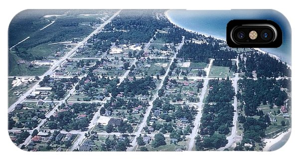 Mackinaw City In The Fifties IPhone Case