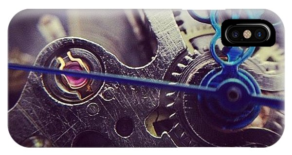 Steampunk iPhone Case - Macro Of My New Gutsy Wrist Watch 😍 by KLH Streets Photography