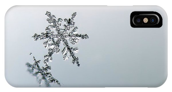 Macro Snowflake IPhone Case