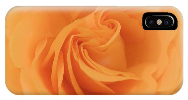 Macro Yellow Rose IPhone Case