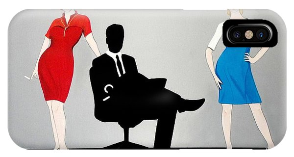 Mad Men In Technicolor IPhone Case