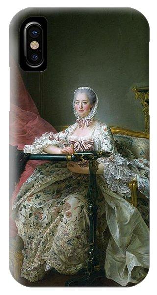 Madame De Pompadour, 1763-64 Oil On Canvas IPhone Case