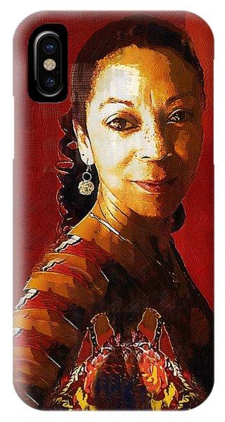 Madame Exotic IPhone Case