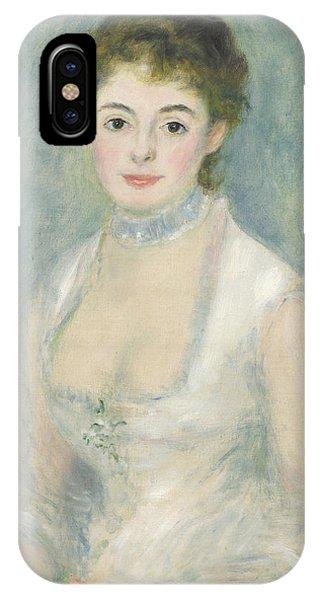 Madame Henriot IPhone Case