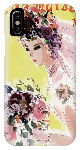 Mademoiselle Cover Featuring A Bride IPhone Case