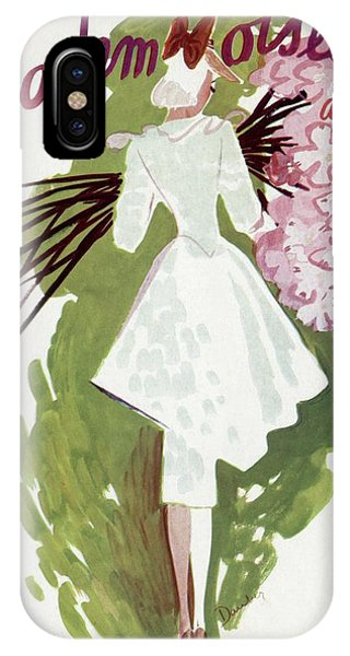Mademoiselle Cover Featuring A Woman Carrying IPhone Case