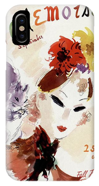 Mademoiselle Cover Featuring A Woman IPhone Case