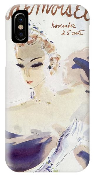 Mademoiselle Cover Featuring A Woman In A Gown IPhone Case
