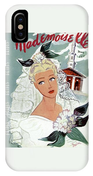 Mademoiselle Cover Featuring An Illustration IPhone Case